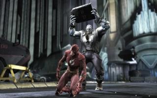 Weet je wat je als snelste wezen in het universum beter kan doen dan vechten, Flash? Wegrennen.
