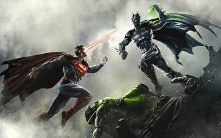 Een strijd tussen Batman en Superman. Op wie zet jij je geld in?