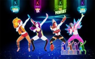 Just Dance 2014: Afbeelding met speelbare characters