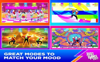 Just Dance 2017 plaatjes