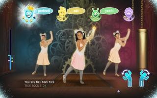 Niet alleen de doelgroep bestaat uit kinderen, maar ook de dansers in de game.