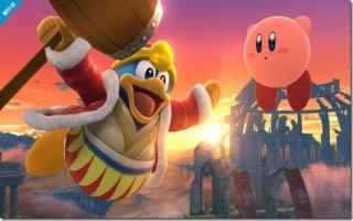 King Dedede blijft ook altijd proberen om Kirby te verslaan zelfs in <a href = https://www.mariowii-u.nl/Wii-U-spel-info.php?t=Super_Smash_Bros_for_Wii_U>Super Smash Bros</a>.