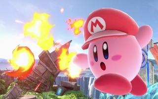 <a href = https://www.mariowii-u.nl/Wii-U-spel-info.php?t=Kirby_and_the_Rainbow_Paintbrush>Kirby</a> kan, net zoals in zijn games, zijn vijanden opzuigen en hun krachten kopiëren.