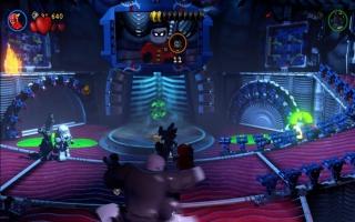 """De Batcave, het """"geheime"""" onderkomen van Batman, dat op dit moment vol zit met vijanden..."""