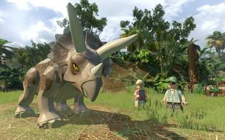 LEGO Jurassic World: Afbeelding met speelbare characters