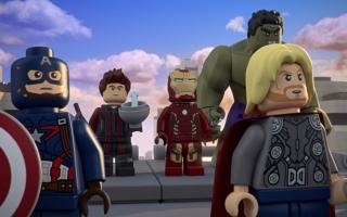 Switch tussen de verschillende personages uit het Marvel Avengers universum.