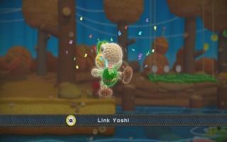 Verder werkt deze amiibo zoals een normale Link-amiibo, zoals in Yoshi's <a href = https://www.mariowii-u.nl/Wii-U-spel-info.php?t=Yoshis_Woolly_World>Woolly World</a>.