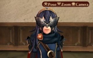 Lucina als extra speelbaar karakter in Fire Emblem Fates.