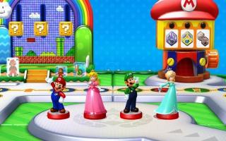 Gebruik de Luigi-amiibo om de amiibo Party vrij te spelen in Mario Party 10.