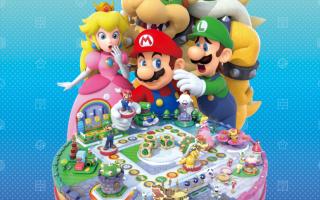 Gebruik de Mario-amiibo in <a href = https://www.mariowii-u.nl/Wii-U-spel-info.php?t=Mario_Party_10>Mario Party 10</a> in amiibo Party op een Mario-bord.