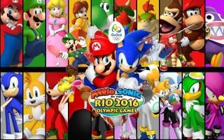 Mario & Sonic op de Olympische Spelen: Rio 2016: Afbeelding met speelbare characters