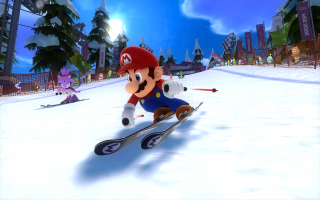 Jammer van die dikke neus Mario, zonder ging je sneller!