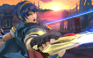 Marth in <a href = https://www.mariowii-u.nl/Wii-U-spel-info.php?t=Super_Smash_Bros_for_Wii_U>Super Smash Bros for Wii U</a>.