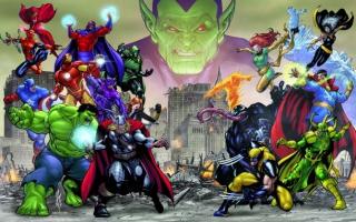 Speel als allerlei Marvelsuperhelden die ooit lid waren van de Avengers!