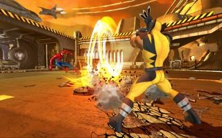 Het lijkt me sterk dat SHIELD het goed zou vinden als Wolverine en Spiderman hun basis vernielden...