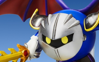 Meta Knight heeft zijn zwaard bij de hand en is klaar voor het gevecht!