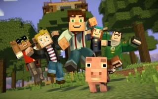 Speel als Jesse in de wereld van het populaire spel <a href = https://www.mariowii-u.nl/Wii-U-spel-info.php?t=Minecraft_Wii_U_Edition>Minecraft</a>!