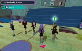 Monster High New Ghoul in School: Screenshot