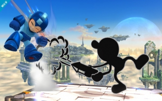 Mr Game and Watch Nr 45 - Super Smash Bros series: Screenshot