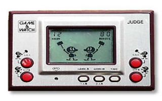 Dit is een Game & Watch systeem, hierop kon je maar één spel spelen!