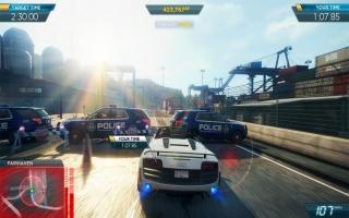 Volgens uitgever EA ziet Need for Speed: Most Wanted er het mooist uit op de Wii U.