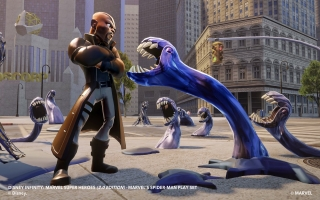 Nick Fury - Disney Infinity 20: Screenshot