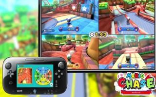 In Mario op de Vlucht slaat de speler met de GamePad op de vlucht voor de anderen, die op de TV spelen.
