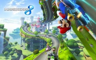 Race ondersteboven met <a href = https://www.mariowii-u.nl/Wii-U-spel-info.php?t=Mario_Kart_8>Mario Kart 8</a> in deze bundel