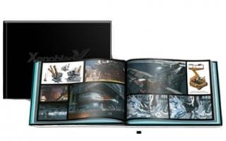Bij de bundel zit ook een artbook met afbeeldingen uit de game