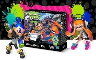 Deze bundel bevat een 32 GB Wii U met het spetterende <a href = https://www.mariowii-u.nl/Wii-U-spel-info.php?t=Splatoon>Splatoon</a>!