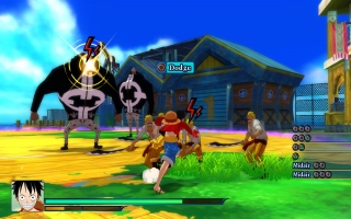One Piece Unlimited World Red: Screenshot