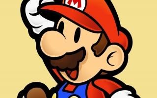 Speel als een papieren versie van Mario.