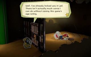 Mario blijft kindvriendelijk!