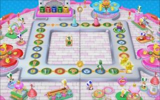 Dit bord speel je vrij als je de Peach amiibo scant in <a href = https://www.mariowii-u.nl/Wii-U-spel-info.php?t=Mario_Party_10>Mario Party 10</a>