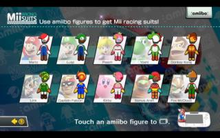 Speel een racepak met een Peach theme vrij voor jouw Mii in <a href = https://www.mariowii-u.nl/Wii-U-spel-info.php?t=Mario_Kart_8>Mario Kart 8</a>.