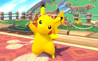 Pikachu Nr 10 - Super Smash Bros series: Screenshot