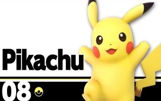 Pikachu Nr 10 - Super Smash Bros series plaatjes