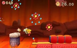 Hier zie je een van de levels die je kunt krijgen in <a href = https://www.mario3ds.nl/Nintendo-3DS-spel.php?t=Poochy_and_Yoshis_Woolly_World>Yoshi's Woolly World 3DS</a>.