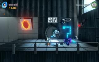 Puzzel er op los met de Portal Gun en een kubus!