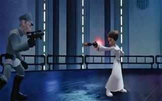 Princess Leia - Disney Infinity 30: Screenshot