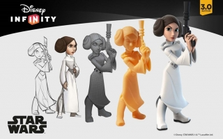 afbeeldingen voor Princess Leia - Disney Infinity 3.0