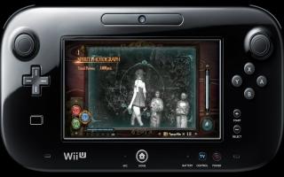Gebruik de gyroscoop van de Wii U GamePad om foto's vast te leggen.