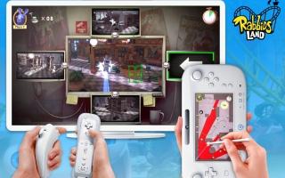 Rabbids Pretpark maakt optimaal gebruik van de <a href = https://www.mariowii-u.nl>Wii U</a> GamePad.