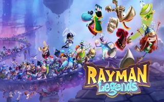 Ook in deze game heeft Rayman zijn armen en benen thuis gelaten.