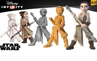Rey - Disney Infinity 3.0: Afbeelding met speelbare characters