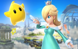 Rosalina & Luma maken SSB onveilig met hun intrede in <a href=https://www.mariowii-u.nl/Wii-U-spel-info.php?t=Super_Smash_Bros_for_Wii_U>Super Smash Bros. for Wii U</a>/<a href=https://www.mario3ds.nl/Nintendo-3DS-spel.php?t=Super_Smash_Bros_for_Nintendo_3DS>3DS</a>.