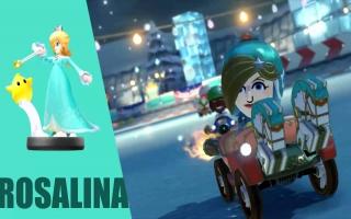 Ontgrendel met deze amiibo een Rosalina kostuum in <a href = https://www.mariowii-u.nl/Wii-U-spel-info.php?t=Mario_Kart_8>Mario Kart 8</a>.
