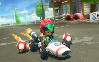 Je kan een Samus kostuum ontgrendelen in <a href = https://www.mariowii-u.nl/Wii-U-spel-info.php?t=Mario_Kart_8>Mario kart 8</a>.