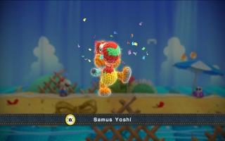 Of ontgrendel een nieuw patroon voor Yoshi in Yoshi's <a href = https://www.mariowii-u.nl/Wii-U-spel-info.php?t=Yoshis_Woolly_World>Woolly World</a>!