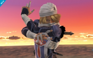 Sheik Nr 23 - Super Smash Bros series: Screenshot